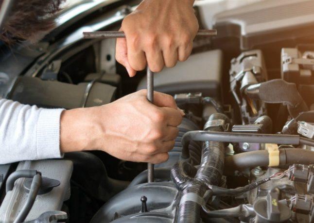 Réparation de voiture